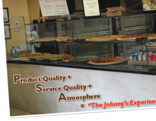 "Product Quality + Service Quality + Atmosphere = ""The Johnny's Experience"""